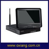 Câmara IP de 4 canais NVR Kit WiFi Câmera WiFi NVR Visor Full HD