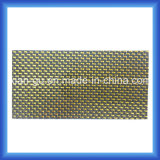 panel de fibras de seda de plata de oro del carbón 3k