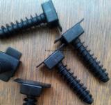 Tipo montajes de la montura Nylon66 de la atadura de cables del clip de cable
