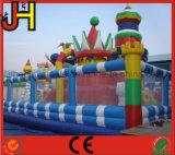 膨脹可能な城、子供の遊ぶことのための膨脹可能な楽しみ都市