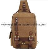 人の方法余暇の単一の肩のキャンバスのiPadの箱袋(CY3709)