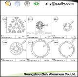 Radiador de aluminio del perfil del CNC de Guangdong que trabaja a máquina Zhilv