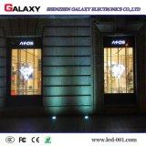 El mejor precio P3.75/P5/P7.5/P10 al aire libre de interior transparente/vidrio/pantalla de visualización video de la ventana/de la cortina LED/muestra/pared para hacer publicidad