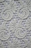 Nuovo tessuto del merletto del poliestere di disegno con il reticolo elegante del ricamo per Dresses e la tessile domestica della signora