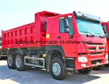 De Vrachtwagen van de Stortplaats van de Wielen van Sinotruk HOWO 6X4 371HP/273kw 10