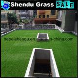 Het Niet-geweven Latex Cloth+SBR die van pp Gras van het Gras van 25mm het Kunstmatige steunen