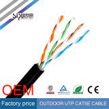 Sipu Waterproof UTP Cat5e Câble réseau Câble extérieur pour Internet