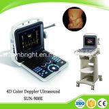 Scanner portatile di ultrasuono di Doppler di colore del computer portatile di prezzi di commerci all'ingrosso 4D