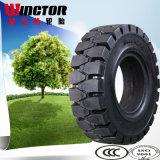 China Fabricante de neumáticos Exportación 5.00-8 Carretilla elevadora de neumáticos sólidos