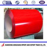 Colorida Prepainted Galvalume PPGL bobinas de acero para construcción