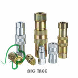 Acoplamento de ligação rápida hidráulica Kzd Brass Hydraulic Quick Coupler