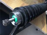 Trituradora de piedra de la minería Dust-Proof Tensor de retorno de recubrimiento de goma