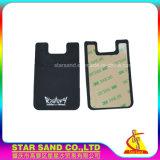 Impressão personalizada de Silicone titular do cartão de crédito, cartões de plástico OEM Wallet