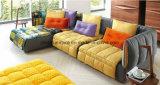 Hogar Muebles de jardín sofás de tela en forma de L