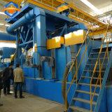 Het Schoonmaken van de Plaat van het staal van het Schot het Vernietigen/van de Ontploffing Machine met de Transportband van de Rol
