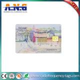 RFID Digital Sle Contato cartão inteligente para controle de segurança