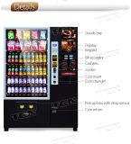 Distributore automatico del caffè dello schermo da 55 pollici per le bevande di freddo e calde