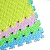 Tapis de sol en mousse EVA 100% Kamiqi colorés de haute qualité - Style de texture de feuille