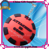 Rubber Keychain voor de Plastic Gift van de Sleutelring