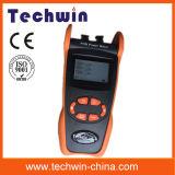 Techwin 새로운 Pon 광학적인 힘 미터 Tw3212e 측정 1490nm, 1550nm 의 섬유에 1310nm 파장