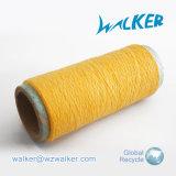 6s (nm 10s)手袋の編むヤーンのための未加工白く黒いリサイクルされた綿の糸