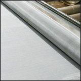 ステンレス鋼の正方形によって編まれる金属線の網