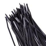 2 x 200mm abraçadeiras de nylon enrola o fio do cabo de Braçadeiras de Nylon