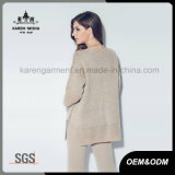 Maglione del pullover modellato marchio surdimensionato di modo delle donne di Karen
