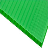 Twin-Wall 6mm Hollow Polycarbonate Sheet
