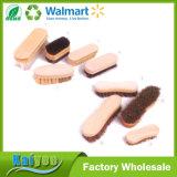 Commerce de gros bois durable personnalisé de nettoyage de la brosse du caisson de nettoyage