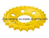 Tractor de segmento de la excavadora excavadora de rueda dentada de tren de rodaje de piezas de maquinaria
