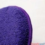 Пурпуровая круглая губка мытья чистки автомобиля Microfiber