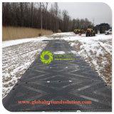 HDPE Polyéthylène/ UHMWPE// PE Voiture de tapis de stabilisation de la route temporaire pour la vente