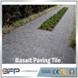 Natürlicher Poliersteinfliese-Basalt für die Pflasterung/Bodenbelag/Treppe/Wand/Badezimmer-/Küche-Fliese