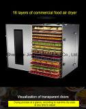 Электрический сельскохозяйственных фруктов овощей осушитель машины/оборудование для сушки фруктов