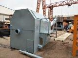 Installatie van het Recycling van twee Vrachtwagens de Ruimte Concrete