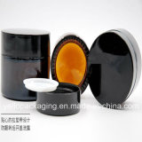 frasco 20ml/30ml/50ml de vidro cosmético com tampão de parafuso