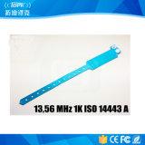 Descartável RFID PVC 13,56 MHz 1k ISO 14443 a Bracelet