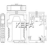 Boîte modulaire DIN Rail