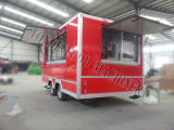 Nahrungsmittelservice-Kiosk-Hotdog-Karre für Verkauf
