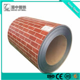 Il colore del reticolo del mattone ha ricoperto la lamiera di acciaio galvanizzata preverniciata