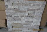 Quartize cornisa de piedra, de piedras apiladas de cuarcita y revestimiento de pared Quartize