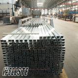 Barra di alluminio rettangolare sporta dell'espulsione della lega di alluminio