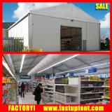 Tente de chapiteau d'usager en tant que l'entrepôt de mémoire temporaire et magasin