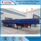 반 60ton 3axles 측벽 또는 측 하락 또는 옆 널 또는 대량 화물 트럭 트레일러