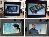 Yashi  &#160のための46インチのタッチ画面透過LCDのショーケース; 表示の広告