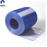 2mm/3mm/4mm*300mm*50m 옅은 파란색 명확한 커튼 문 PVC 지구