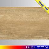 Carrelage glacé en bois de porcelaine de matériau de construction de regard (WR-IMB6922)