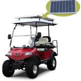 太陽電池パネルが付いているSolar Energy Cのゴルフ用品4seatハンチングカート