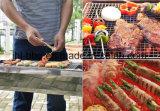 Edelstahl-Draht-rundes bratenes Netz für Picknick-Grill-Gitter